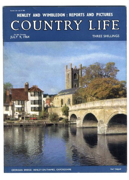 1964 COUNTRY LIFE Magazine DIANE CARTER Shadwell Park Norfolk EDRICH TRUEMAN Cricket (3153) SOLD